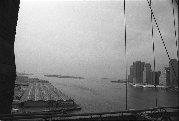 Sight Brooklyn Bridge, Harbour
