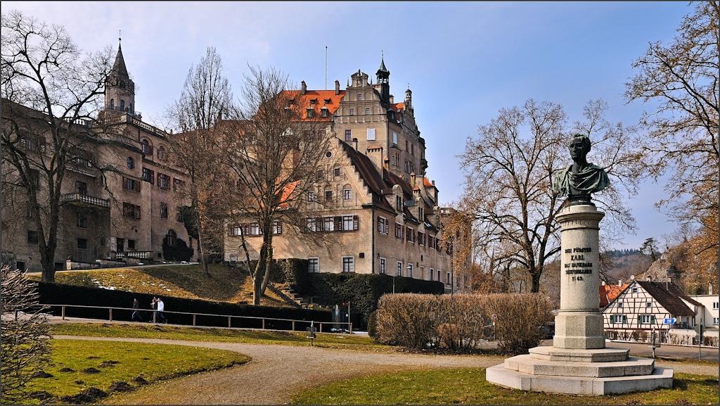 Sigmaringen - Am Hohenzollernschloss