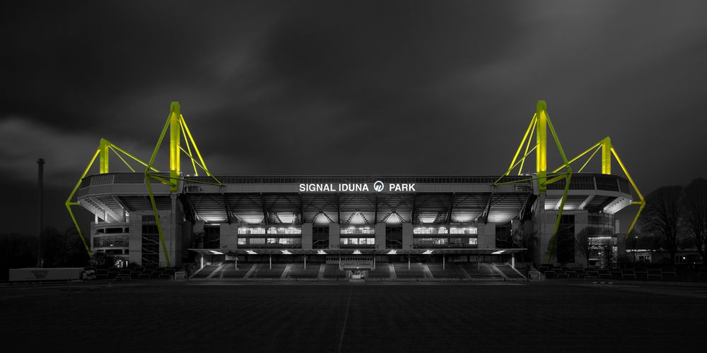 Signal Iduna Park Einlass Vor Spiel