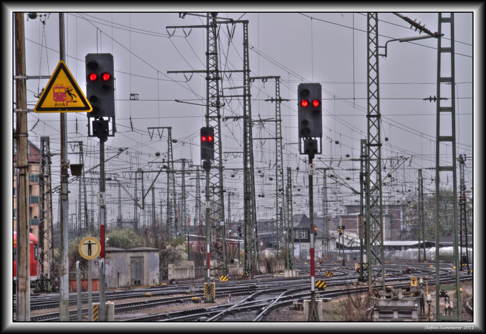 Signale auf Rot
