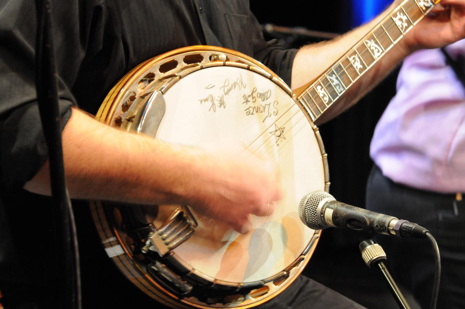 Signed Stoke's Banjo
