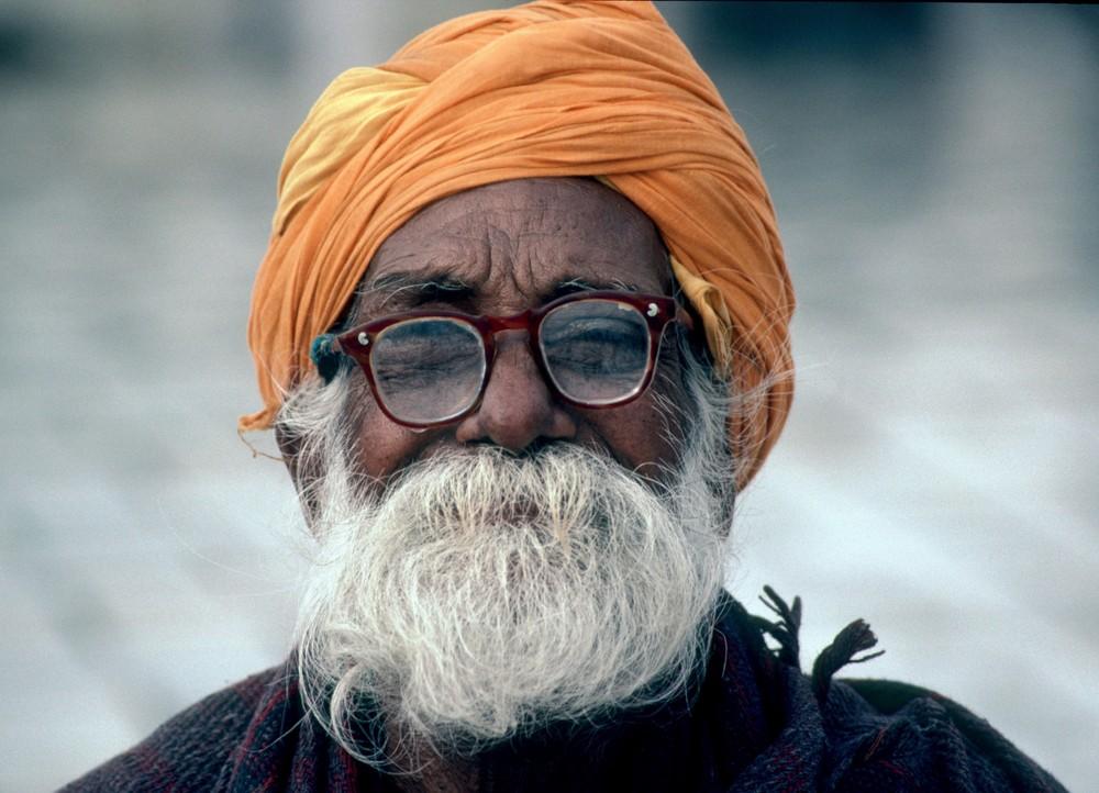 [ … Sikh pilgrim ]