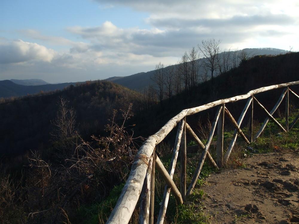 Silagebirge in Kalabrien