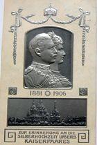 Silberhochzeit des deutschen Kaiserpaares 1906