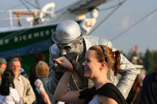 Silbermann am Hafen