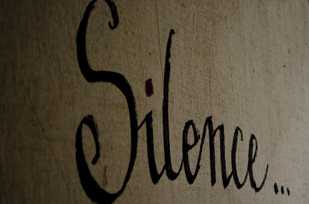 Silence....