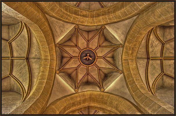 silence in a church
