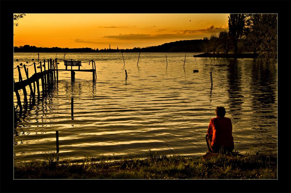 ...Silence is golden...
