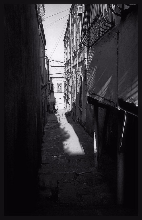 Silence of the narrow streets