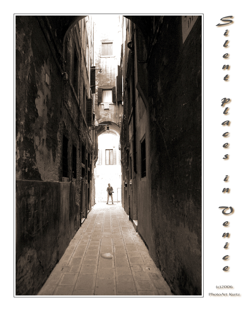 Silent places in Venice 1