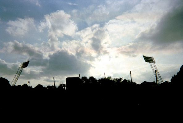 Silhouette des Olympiaparks München