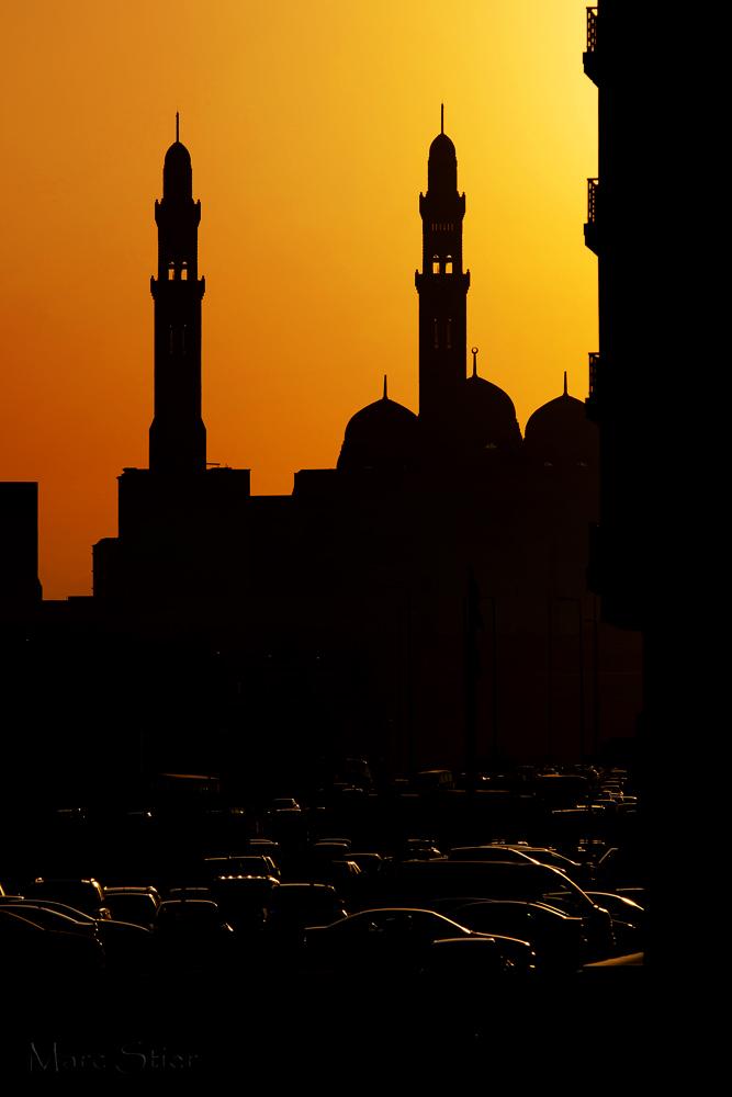 Silhouette des Oman