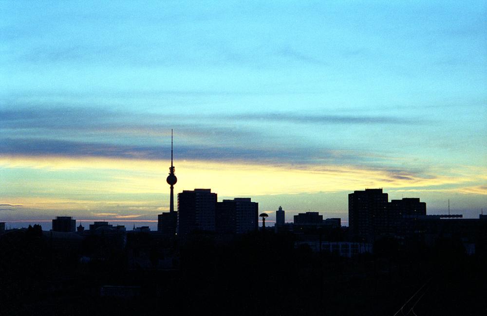 Silhouette einer Großstadt