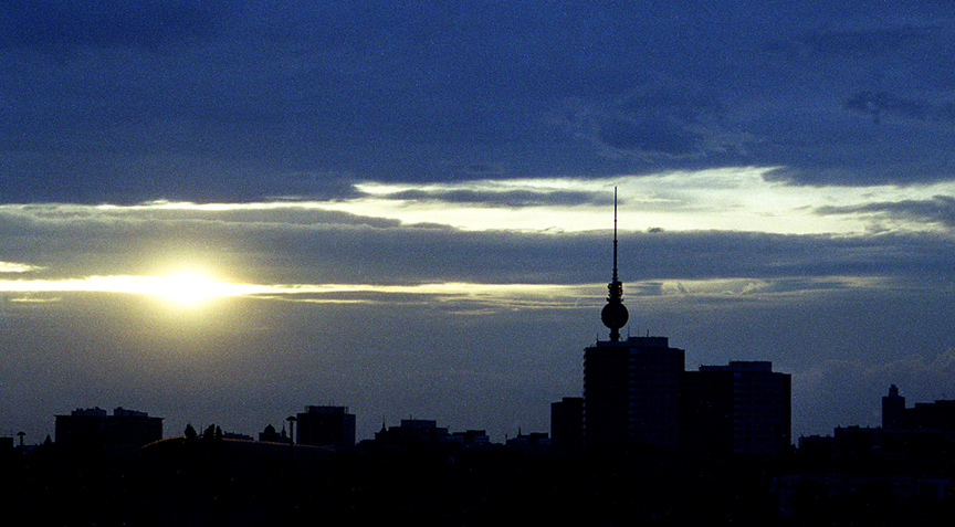 Silhouette einer Großstadt 2