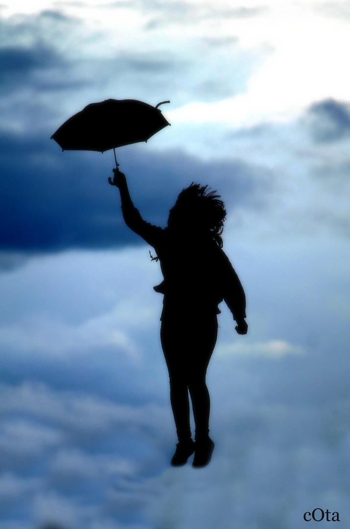 Silhouette im Wind...