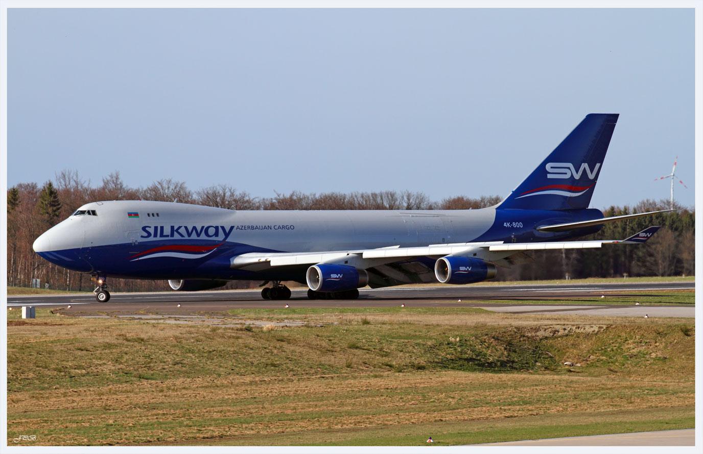 "Silkway Airlines ""Azerbaijan Cargo"" Boeing 747-400SCD"