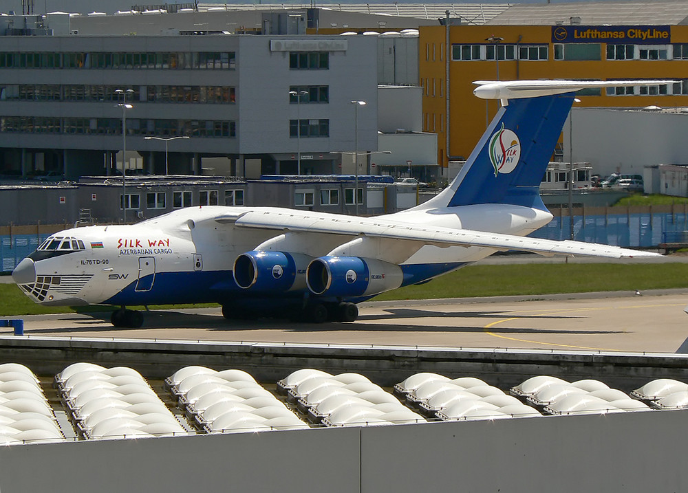 Silkway Ilyushin Il-76 TD90 4K-AZ100