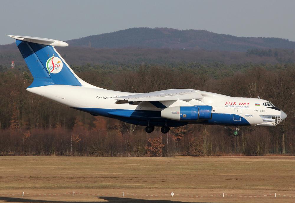 SilkWay Ilyushin Il-76TD-90SW 4K-AZ101