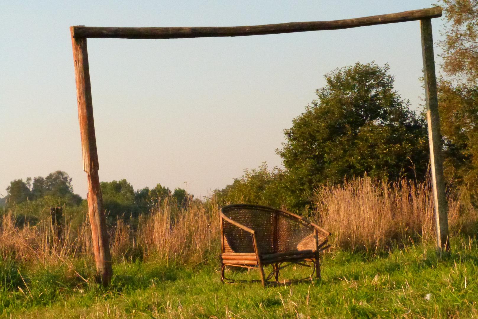 sillón viejo