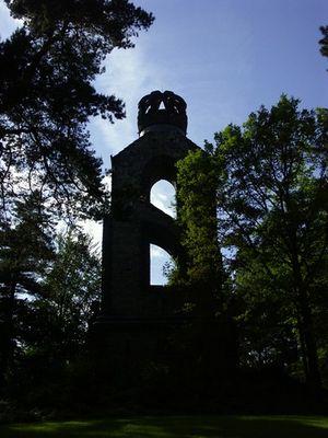 Silouette Bismarckturm