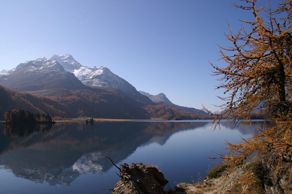 Silsersee im Oktober
