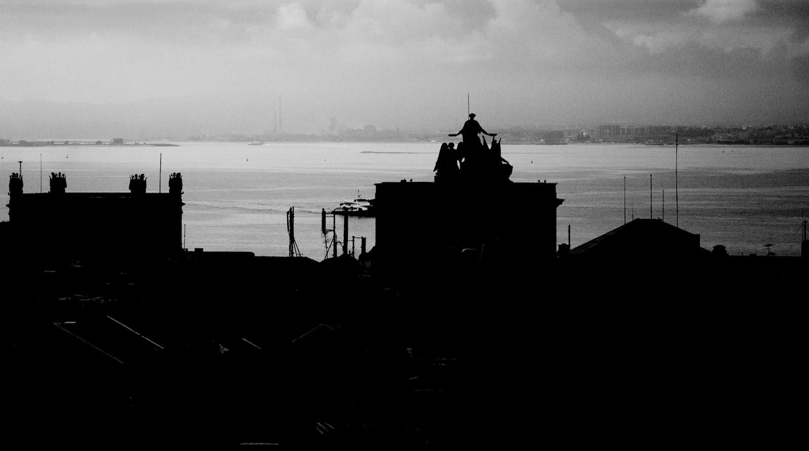 Siluetas en Lisboa