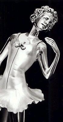 Silver Ballet Dancer
