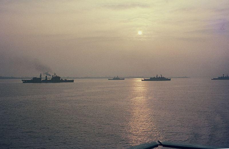Silver Jubilee of Elizabeth II - Naval Review in Spithead (2)