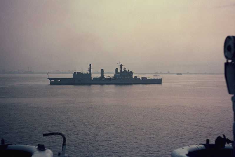 Silver Jubilee of Elizabeth II - Naval Review in Spithead (5)