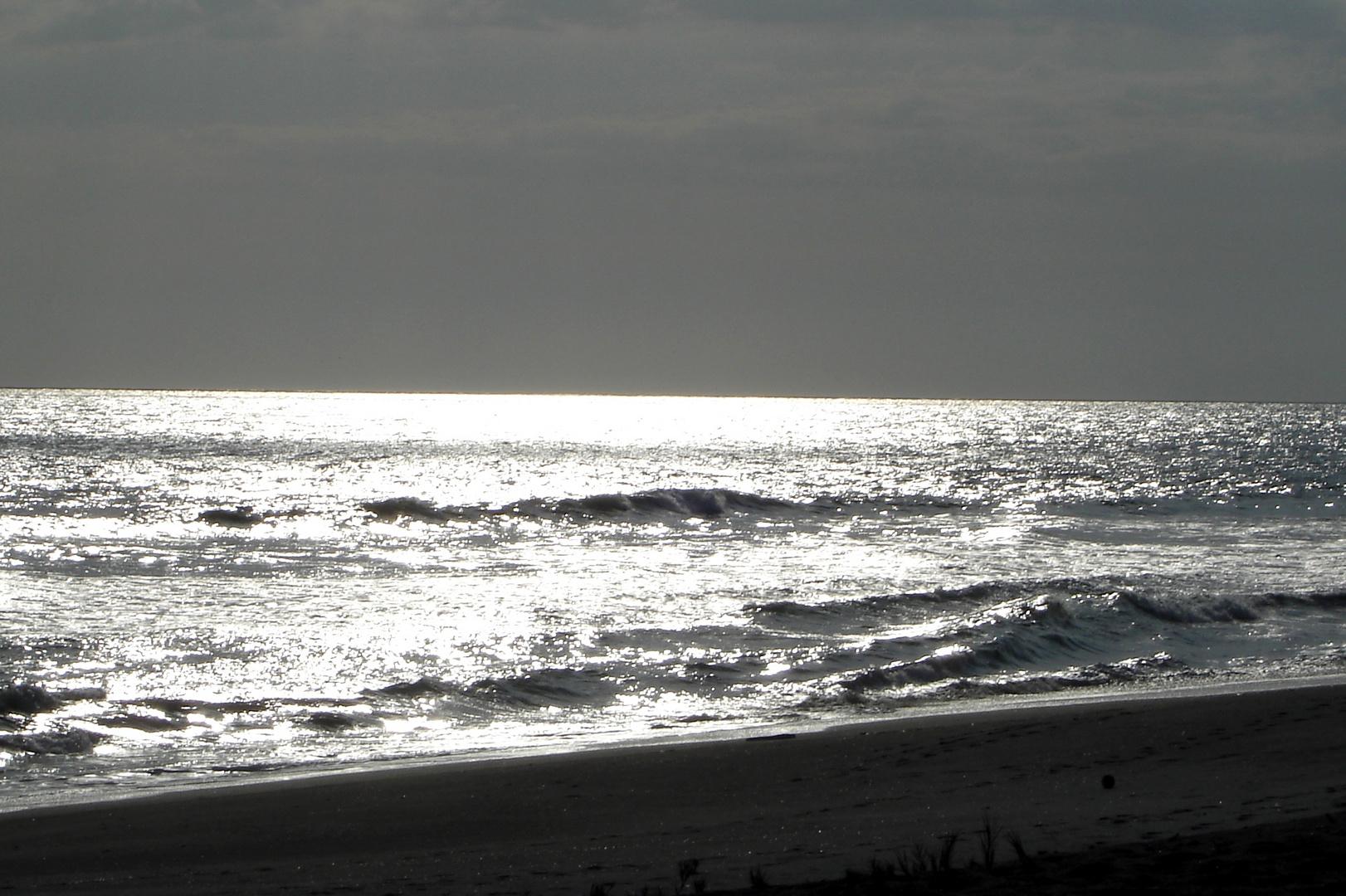 Silver Sea Sunset