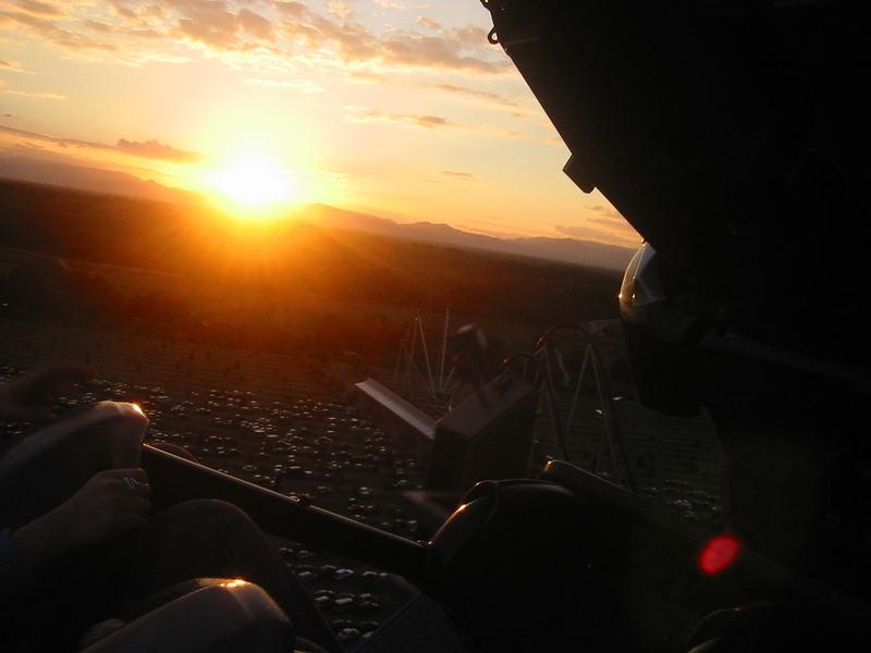Silver Star Sonnenuntergang