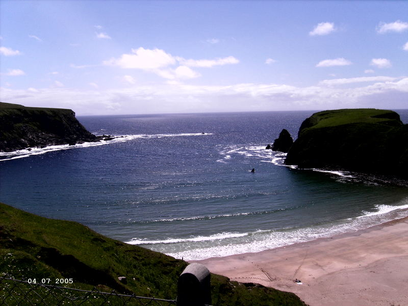 Silver Strand, Co. Donegal, Irland