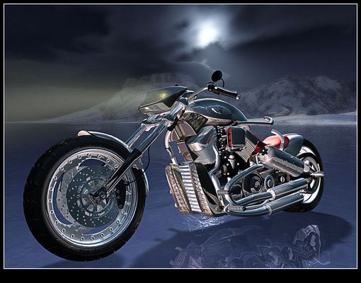 Silver_Harley