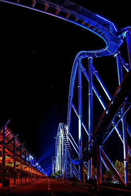 Silverstar bei Nacht