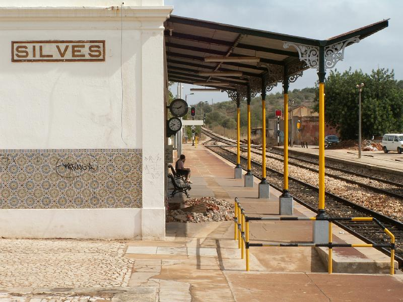 Silves Bahnhof