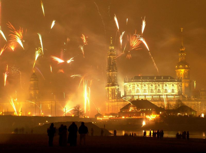 Silvester 2003 in Dresden
