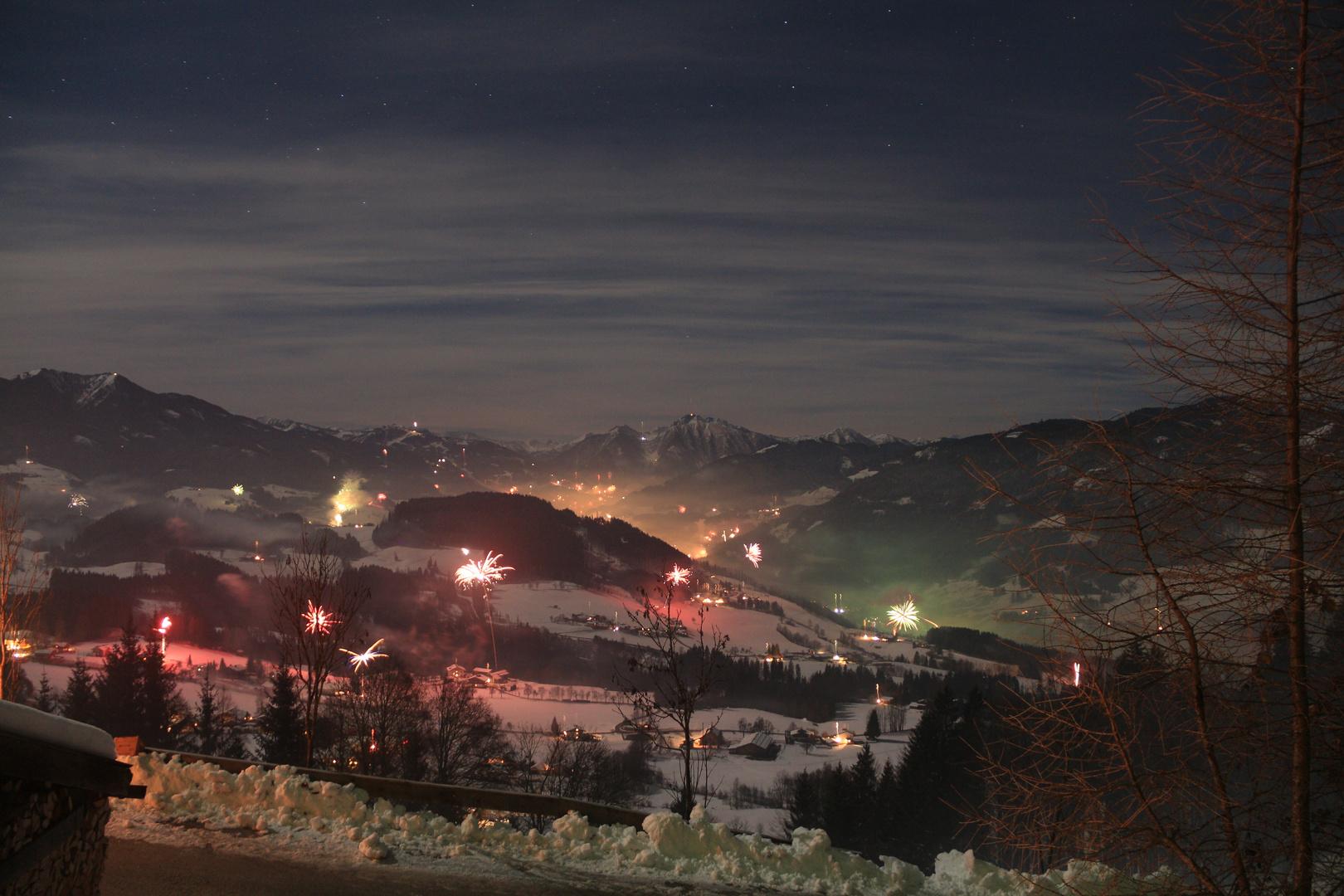 Silvester 2012/13 Nacht