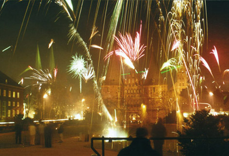 Silvester am Holstentor – Lübeck