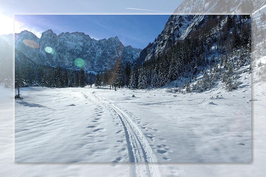 Silvester im Laliderertal / Karwendel