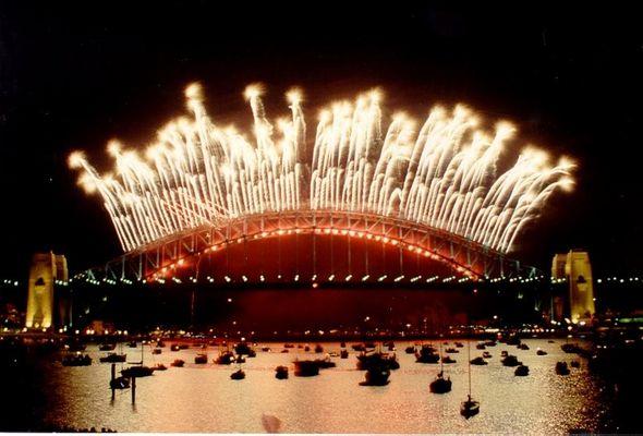 Silvester in Sydney - Schöner kann kein Feuerwerk sein.
