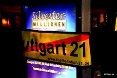 Silvester Millionen vs BAU Milliarden K21 Stuttgart Dez13