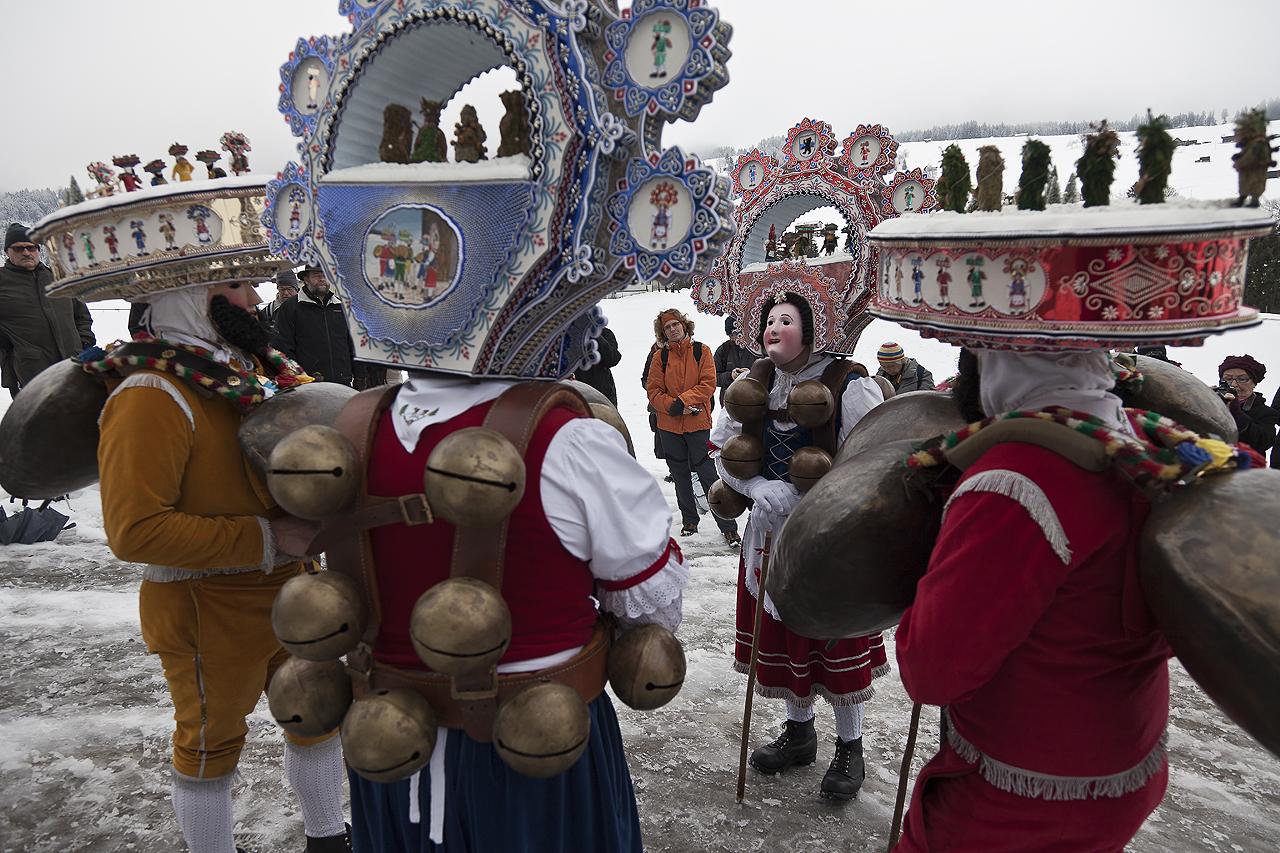 Silvester Urnäsch 13.01.2012
