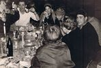 Silvesterparty 1967 in Fontainebleau (2)