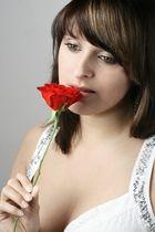 Silvi mit Rose