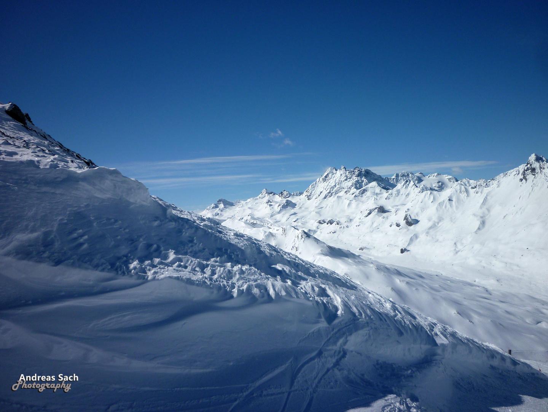 Silvretta Gebirge im Grenzgebiet