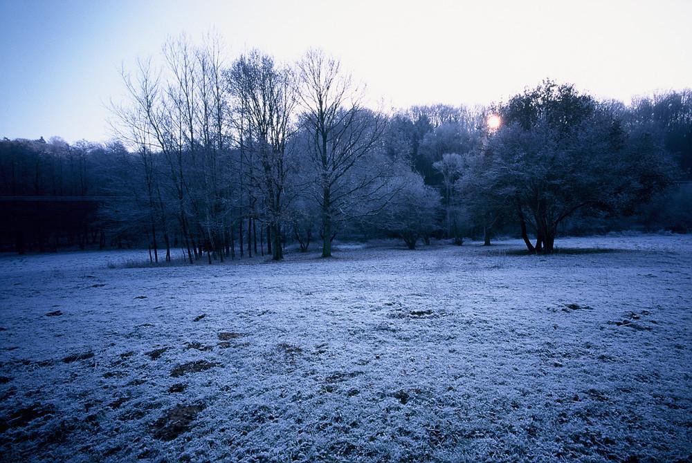 Simbachtal im Winter