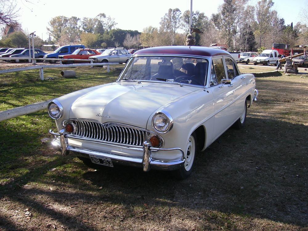 simca 1967 a 1969 ensamblados en Argentina