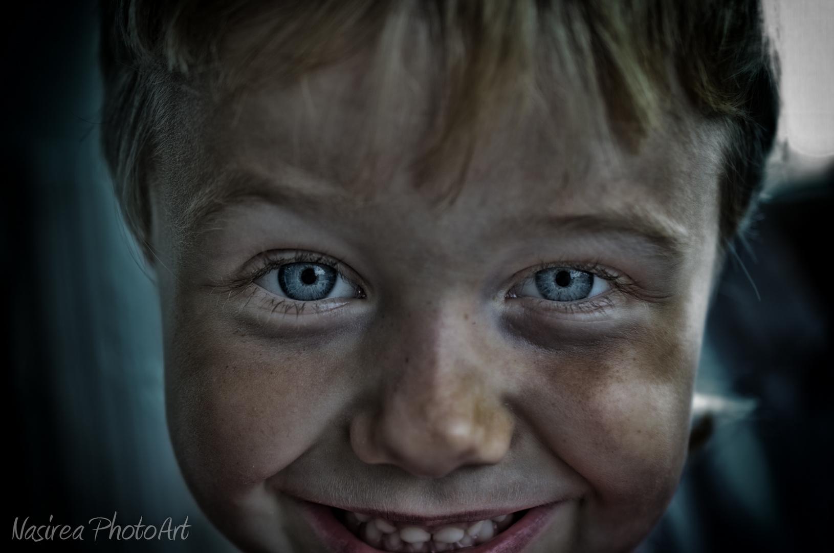 Simons Augen