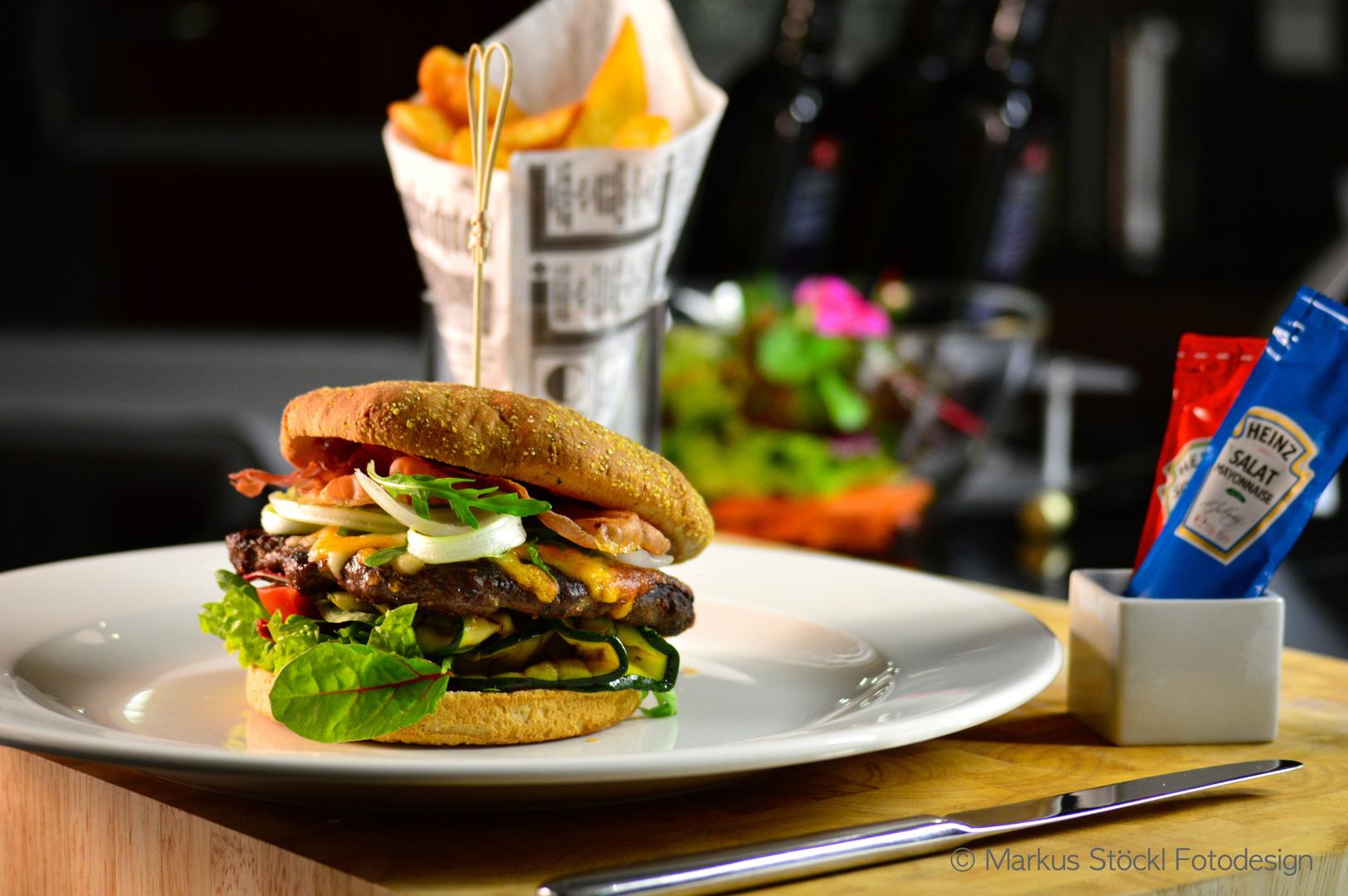 Simple fresh Burger