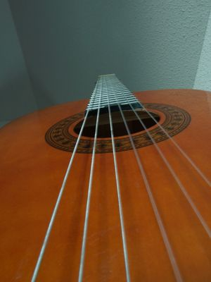 Simplement une guitare